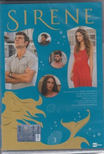 3° di 6 DVD -  Sirene - serie ideata da Ivan Cotronero per la TV - regia di Davide Marengo