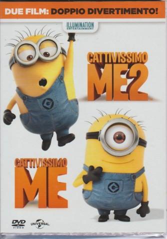 Doppio DVD - Cattivissimo Me 1 + Cattivissimo Me 2
