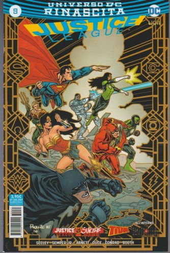 JUSTICE LEAGUE (67) 9 - DC Comics Lion