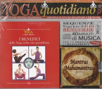 Vivere lo Yoga Quotidiano - Manuale + Copact disc per il Rilassamento