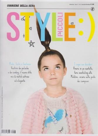 Style piccoli - n. 6 - bimestrale - novembre - dicembre 2018