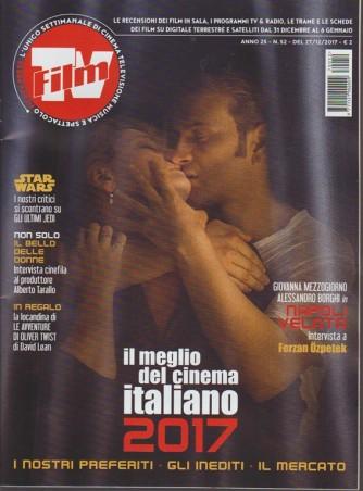 Film Tv -settimanale n.52 -27 Dicembre 2017 - il meglio del cinema italiano 2017
