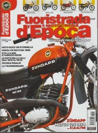 Fuoristrada & Motocross d'epoca- Bim.n.1 Gennaio2018 Zundapp MC/GS 125 1954