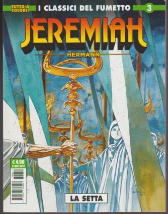 Cosmo Serie Verde - Jeremiah n.3 - la setta - Tutto a colori