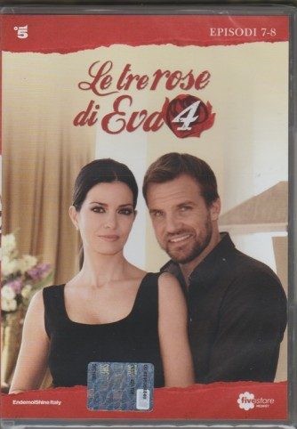 4° DVD di 5 - Le tre Rose di EVA 4: 7° e 8° episodio + DVD e libretto