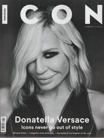 Panorama Icon: Uomini e stili - Mensile n. 40 gennaio 2018 - Donatella Versace