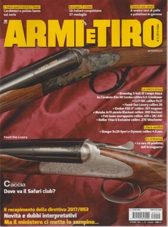 Armi E Tiro - n. 10 - ottobre 2018 - mensile