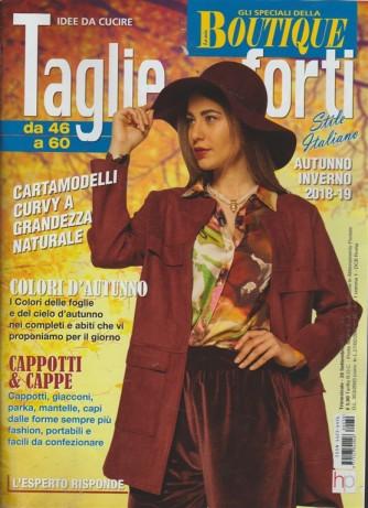 Gli specaili dela Boutique - Idee da cucire - Taglie forti da 46 a 60 - n. 30 - trimestrale - 28 settembre 2018 -