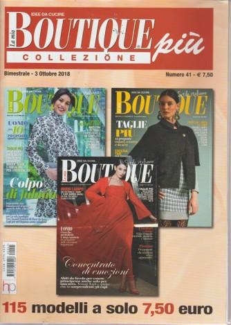 La mia boutique più collezione - n. 41 - bimestrale - 3 ottobre 2018 - 115 modelli - 3 riviste