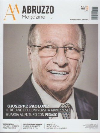 Abruzzo Magazine - n. 4/2018 -