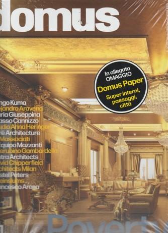 Domus - + Domus Paper - n. 1028 - ottobre - 2018 - mensile - 2 riviste