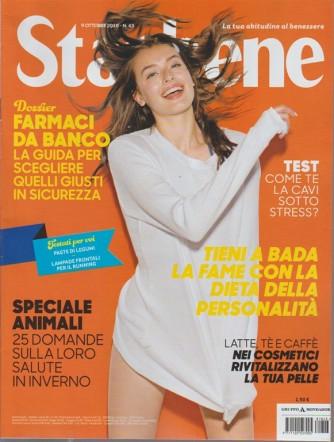 Starbene - n. 43 - 9 ottobre 2018 - settimanale