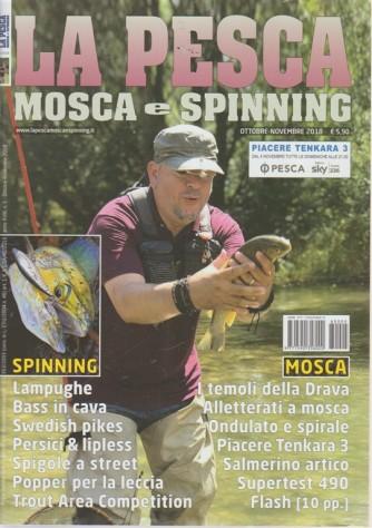 Pesca Mosca E Spinning - n. 5 - ottobre - novembre 2018 - mensile