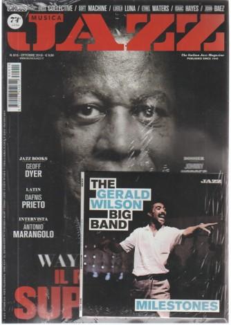 Musica jazz - n. 815 - ottobre 2018 -