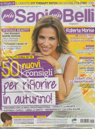 Più sani più belli  magazine- n. 95 - ottobre 2018 - mensile