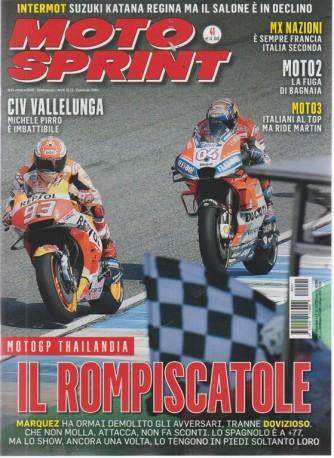 Motosprint - n. 41 - 9/15/ ottobre 2018 - settimanale -