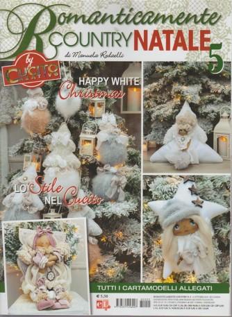 Romanticamente Country  Natale -- n. 5 - 4 ottobre 2018 - by cucito creativo di Manuela Redaelli