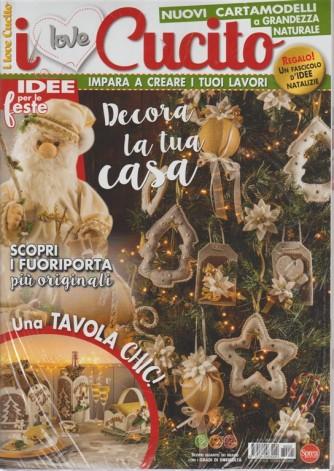 I Love Cucito - n. 25 - bimestrale - ottobre - novembre 2018 -