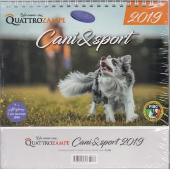 Calendario 2019 da tavolo Cani & Sport - cm.19 x 14 spirale