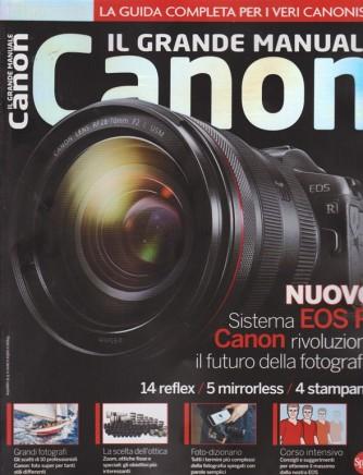 Il grande manuale Canon - Professional Photo n. 4 - bimestrale - ottobre - novembre 2018