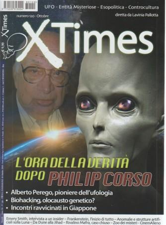 X Times - n. 120 - ottobre 2018 - mensile -