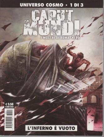 Almanacco Cosmo - Caput Mundi Serie 2 - I mostri di Roma: nero - L'inferno è vuoto - n. 24 - mensile - novembre 2018