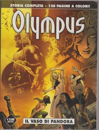Olympus - giugno 2016 - mensile - Il vaso di Pandora - 128 pagine a colori