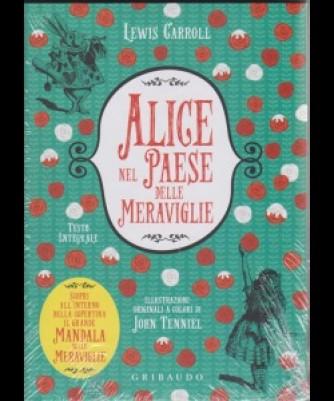 I Corsi Di Sorrisi n. 5- Alice Nel Paese Delle meraviglie - libro + poster - di Lewis Carroll - settimanale - novembre 2018 -