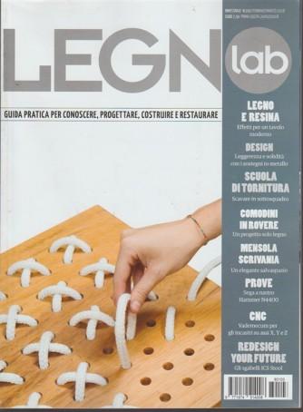 Legno Lab - bimestrale n.103 febbraio 2018 Legno e resina: per un tavolo moderno
