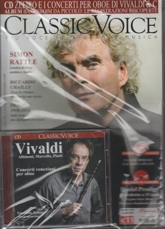 Classic Voice -mensile n.224 Gennaio 2018 + CD Concerti per oboe di Vivaldi e C.