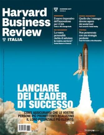 Harvard Business Review Italia mensile n.12 Dicembre 2017