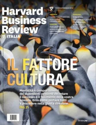Harvard Business Review Italia mensile n.2 Gennaio/Febbraio 2018