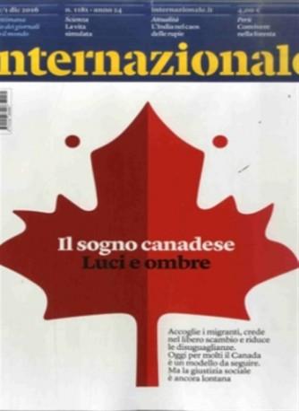 Internazionale - Settimanale n.1181 del 25 Novembre 2016