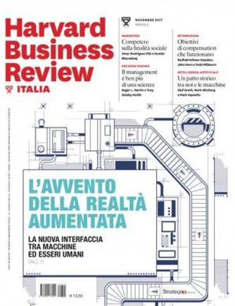 Harward Business Review Italia mensile n.11 Novembre 2017