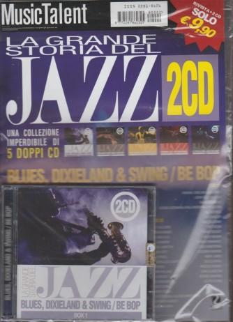 Doppio CD - La grande storia del JAZZ - 1° uscita di 5 Doppi CD