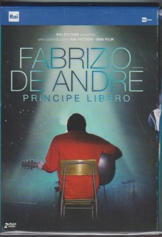 Doppio DVD Fabrizio De André: Principe libero