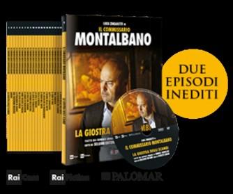 1° DVD - il Commissario Montalbano - La giostra degli scambi - c/Luca Zingaretti