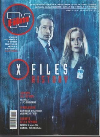 Film Tv - settimanale n.4 - 23 Gennaio 2018 X files History
