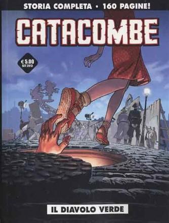 Cosmo serie nera n° 1 - Catacombe - Il diavolo verde