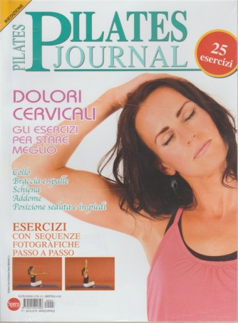 Pilates Journal - bimestrale n. 3 Marzo 2018 Riedizione - 25 Esercizi