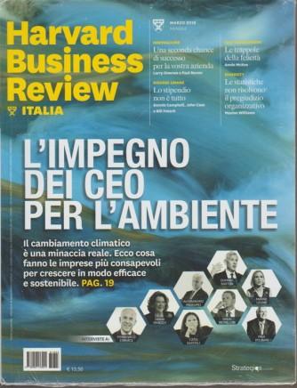 Harward Business Review Italia - mensile n.3 marzo 2018 Lo stipendio non è tutto