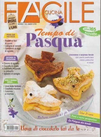 Facile Cucina - mensile n. 3 Marzo 2018 - Tempo Di Pasqua