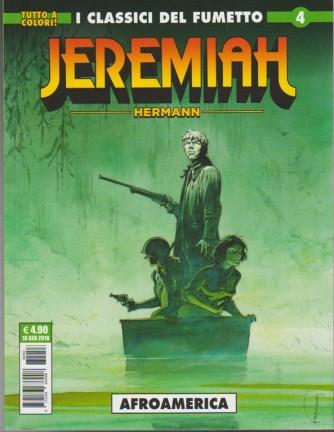 "Cosmo Serie Verde - Jeremiah n. 4 ""Afroamerica "" Tutto a colori"