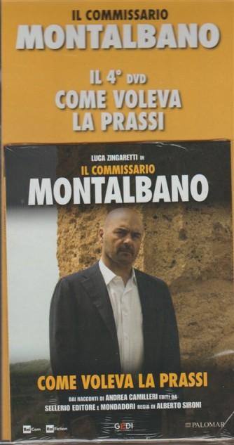 4° DVD - il Commissario Montalbano - Come voleva la prassi - c/Luca Zingaretti