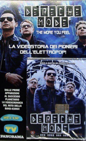 DVD - Depeche Mode - The more you feel - Nicola Bartolini Carrassi
