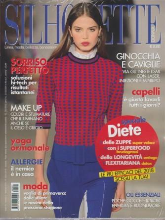 Silhouette Donna - mensile n. 2 febbraio 2018 Speciale Diete