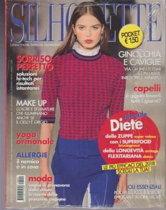 Silhouette Donna Pocket  - mensile n. 2 febbraio 2018 Speciale Diete