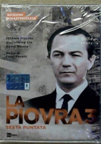 DVD La Piovra 3 - Sesta puntata - Ed. Rimasterizzata