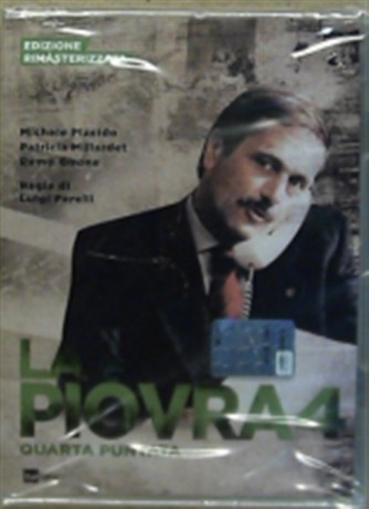 DVD La Piovra 4 - Quarta puntata - Ed. Rimasterizzata