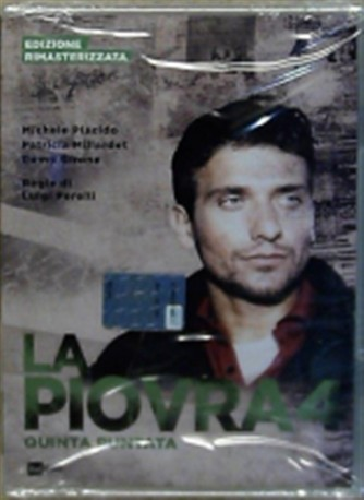 DVD La Piovra 4 - Quinta puntata - Ed. Rimasterizzata